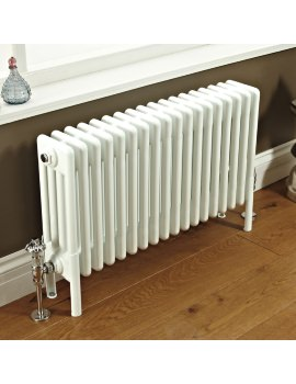 Phoenix Nicole 785 x 400mm White 4 Column Radiator