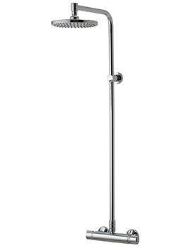 Aqualisa Midas Plus Thermostatic Bar Shower Valve With Head - EX-DISPLAY