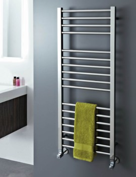 Phoenix Roscoe 500 x 1200mm Pre-Filled Electric Radiator Stainless Steel