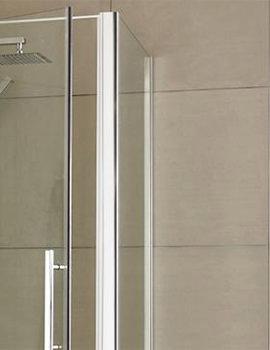 Lauren Apex 800mm x 1900mm Side Panel For Shower Enclosure