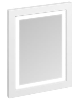 Burlington 600mm Framed Mirror With LED Illumination