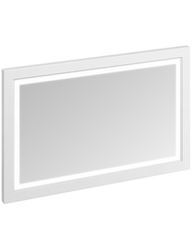 Burlington 1200mm Framed Mirror With LED Illumination