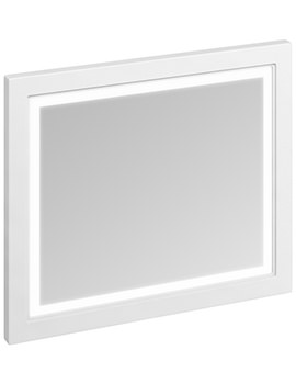 Burlington 900mm Framed Mirror With LED Illumination