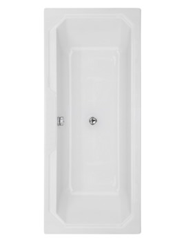 Beo Soul 1800 x 800mm Double Ended Acrylic Bath