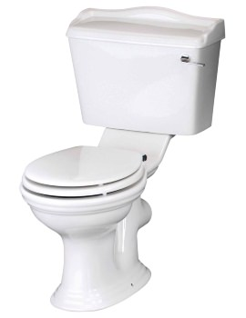 Beo Regent Close Coupled WC With Cistern And Soft Close Seat
