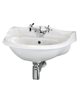 Beo Regent 500mm 1 Tap Hole Basin