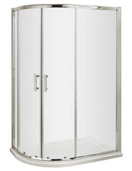 Beo Framed 1200 x 800mm Offset Quadrant Shower Enclosure