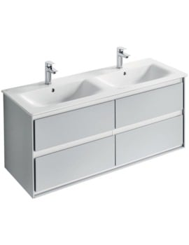 Ideal Standard Concept Air 1200mm Wall Hung 4 Drawers Vanity Unit