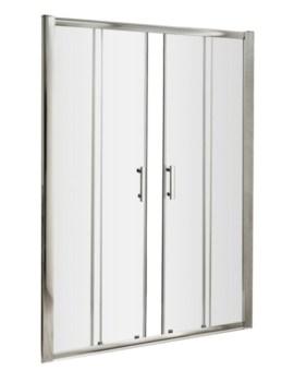 Beo Framed 1600mm Double Sliding Door