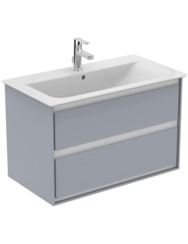 Ideal Standard Concept Air 800mm Wall Hung 2 Drawers Vanity Unit