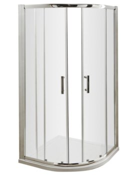 Beo Framed 900mm Double Door Quadrant Shower Enclosure