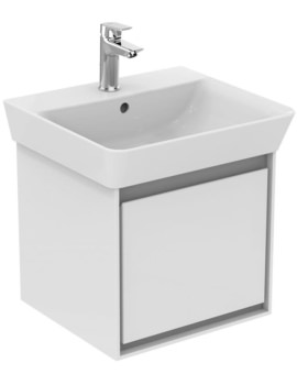 Ideal Standard Concept Air Wall Hung Drawer Unit For 500mm Cube Basin
