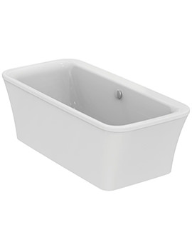 Ideal Standard Concept Air 1700 x 790mm Free Standing Double Ended Bath - White