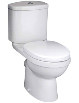 Beo Capital Close Coupled WC Pan Including Cistern And Seat 630mm