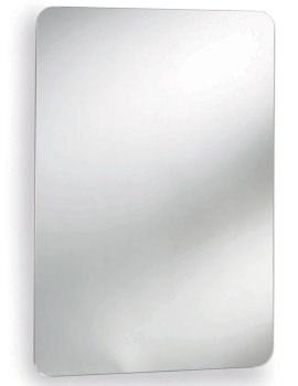 Beo Dinara 460 x 660mm Stainless Steel Mirrored Cabinet