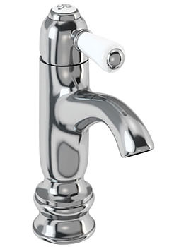 Burlington Chelsea Regent Curved Mono Basin Mixer Tap