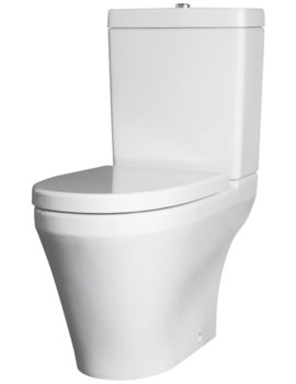 Beo Delight Open BTW Close Coupled Pan And Cistern With Soft Close Seat