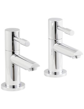 Beo Prise Pair Of Basin Taps