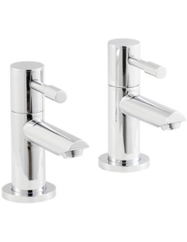 Beo Prise Pair Of Bath Taps