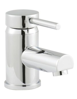 Beo Mini Basin Mixer Tap With Push Button Waste