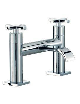 Beo Topaz Deck Mounted Bath Filler Tap Chrome