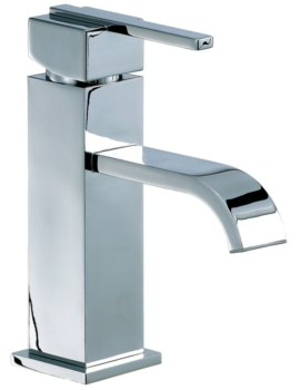 Beo Solo Mono Basin Mixer Tap With Click Waste Chrome