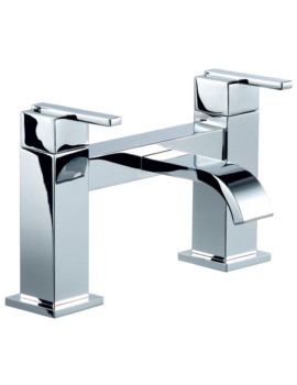 Beo Solo Deck Mounted Bath Filler Tap Chrome