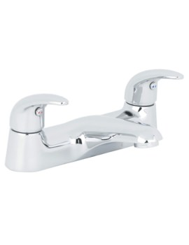 Beo Atlas Deck Mounted Bath Filler Tap Chrome