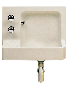 Twyford Barbican 510 x 410mm Build-In Handrinse Basin