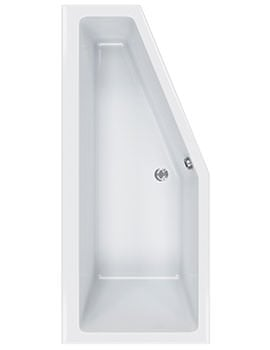 Carron Quantum Space Saver 5mm Acrylic Right Hand Bath 1700 x 750mm