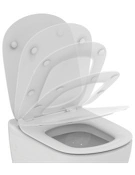 Ideal Standard Tesi Slim Slow Close WC Toilet Seat