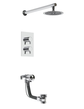 Bristan Prism Recessed Dual Control Shower Pack