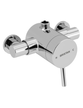 Bristan Prism Thermostatic Exposed Top Outlet Single Control Shower Valve