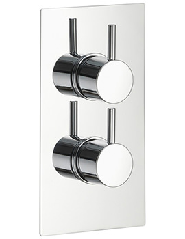 Pura Arco Concealed Thermostatic Shower Valve