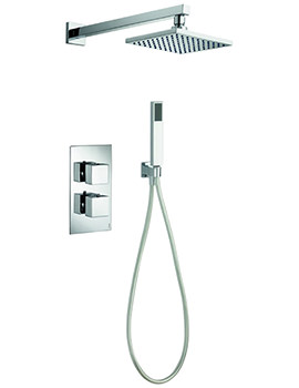 Pura Bloque2 Thermostatic Valve With Head And Handset Kit