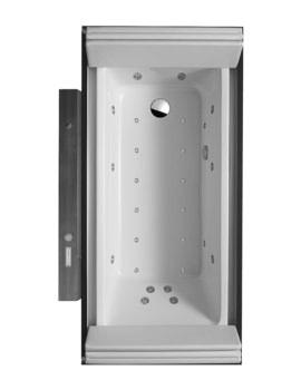Duravit Sundeck 1900x1000mm Combi-System E Bath With Short Pillar