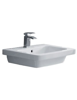 Essential IVY 550 x 460mm Basin With 1 Tap Hole