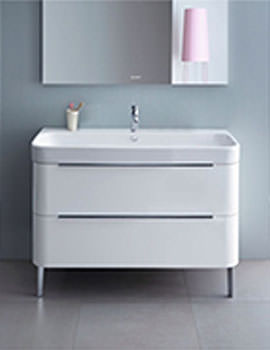 Duravit Happy D2 625 x 480mm Floor Standing Vanity Unit With 650mm Basin