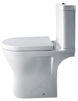 Essential IVY Comfort Height Open Back Close Coupled WC Pack