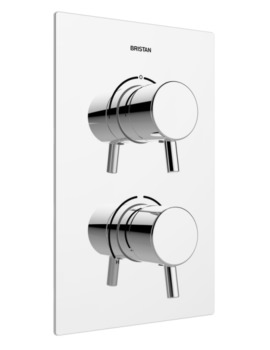 Bristan Prism Thermostatic Dual Control Valve With Integral 2 Outlet Diverter