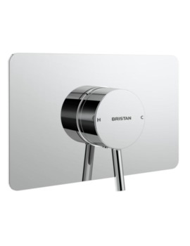 Bristan Prism Thermostatic Recessed Single Control Shower Valve