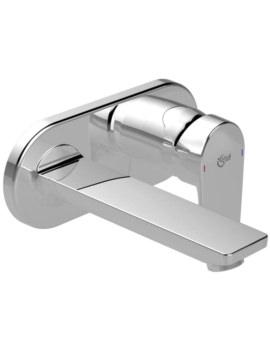 Ideal Standard Tesi Single Lever Built-In Basin Mixer Chrome Tap