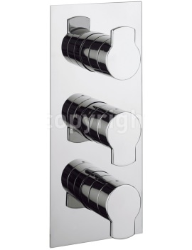 Crosswater Wisp Thermostatic Shower Valve With 3 Way Diverter Portrait