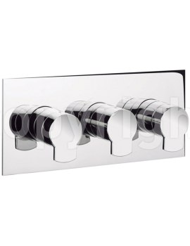 Crosswater Wisp Thermostatic Shower Valve With 3 Way Diverter Landscape