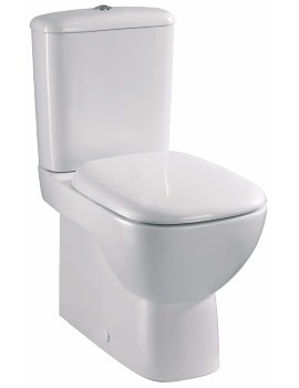 Twyford Moda Rimfree Close Coupled BTW WC Pan And Cistern 640mm