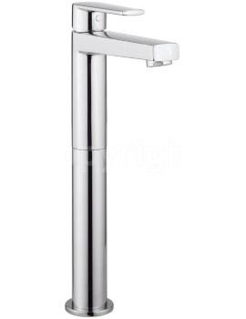 Crosswater Solo Tall Monobloc Basin Mixer Tap Chrome