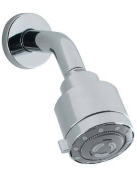 Crosswater Reflex 4 Mode Low Pressure Shower Head With Arm
