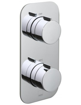 Vado Tablet Altitude 1 Outlet 2 Handle Thermostatic Shower Valve