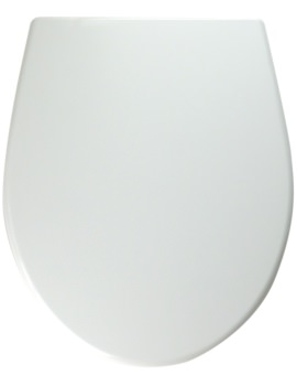 Twyford Alcona White Toilet Seat And Cover With Metal Hinges