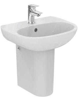 Ideal Standard Tesi 450 x 360mm Handrinse Washbasin - White